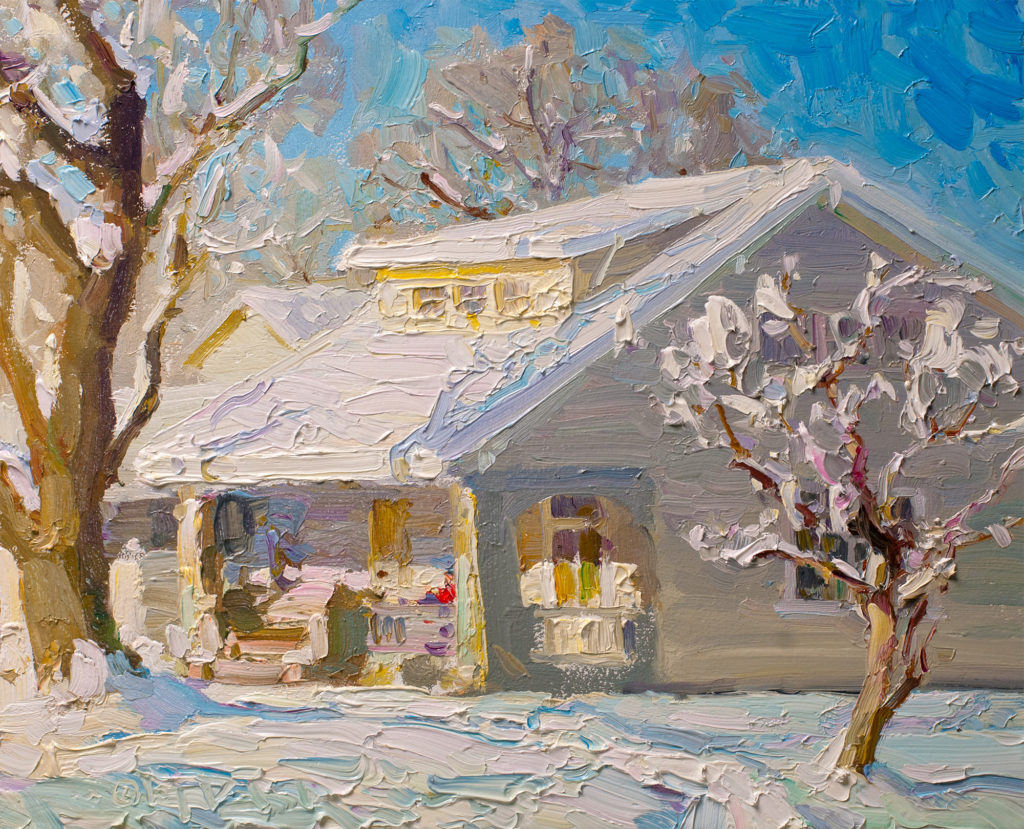 Impressionist Winter Landscape Paintings