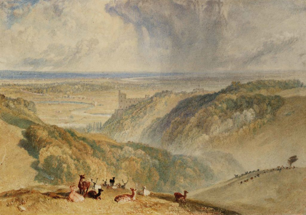 JMW Turner watercolor paintings - FineArtConnoisseur.com