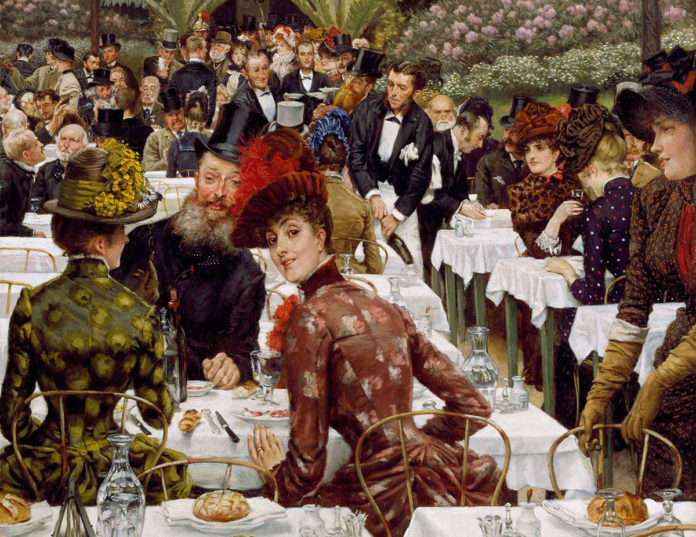 """Painters and Their Wives"" by James Tissot"