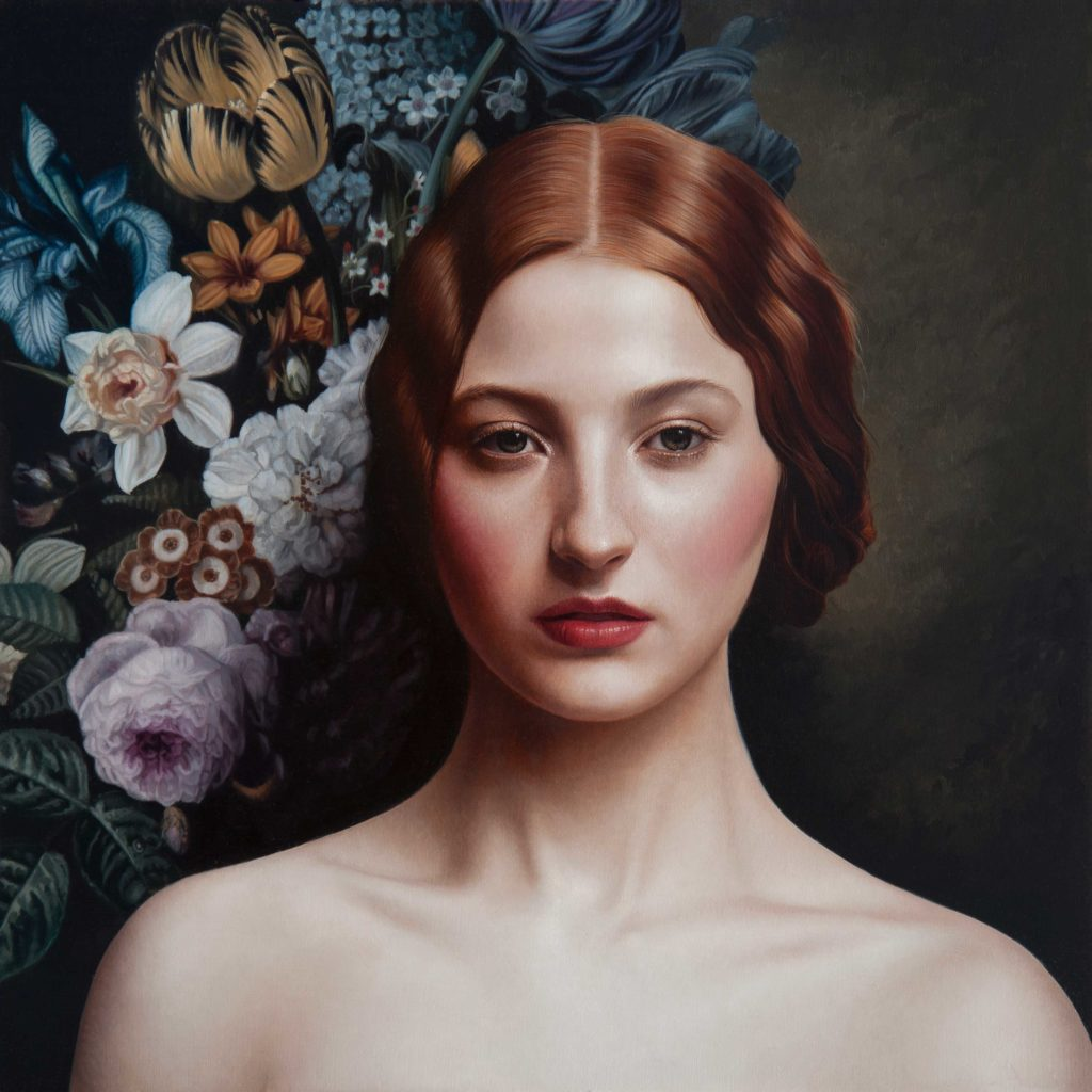 "Mary Jane Ansell, ""Lamina,"" 12 x 12"